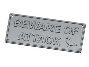 Beware of Attack Birds