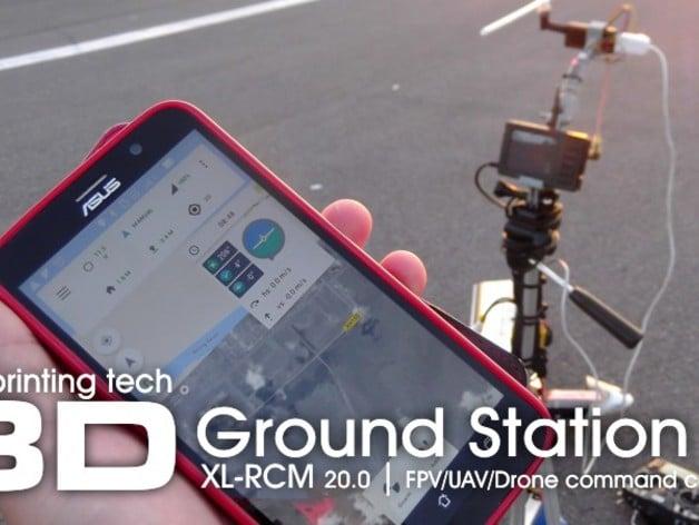 XL-RCM 20.0: FPV/UAV/Drone Ground Station II kit by 3dxl ...