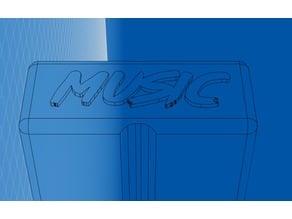 "Ice Pop ""Music"" icepop mold"