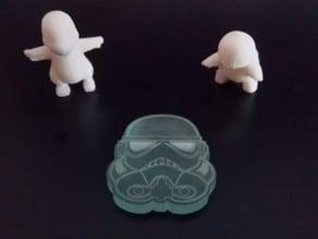 Stormtrooper Keychain Laser cut