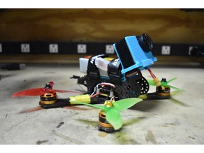 GoPro Mount for FPV Racing Drones