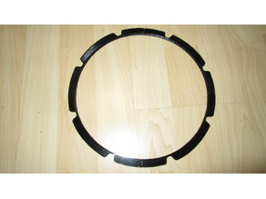 """universal gasket replacement for 10"""" Sub woofer"""