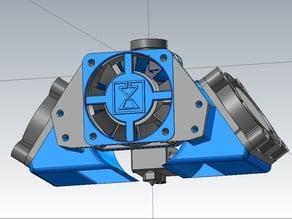 Ventilador de capa para ventiladores de 40mm