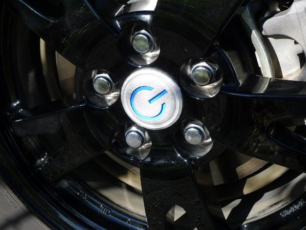 Toyota Prius Wheel Center Cap Power Symbol By Schlem