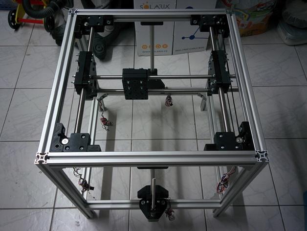 VULCAN 400 - Large Sized Cartesian 3d Printer by cunat