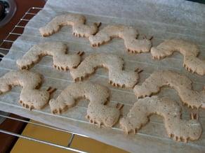 Very Hungy Caterpillar Cookies