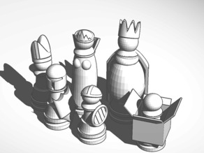 Goofy Chess Set
