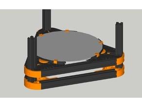 Concept! FLSUN Delta Kossel Mini Adjustable Bed Holder