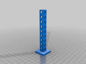 Travis Fletcher's PETG 230-270 Temp Calibration Tower