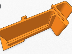 DIN rail mount for 105x60mm PCB