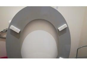 patin de cuvette de toilette