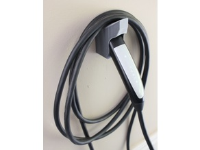 Tesla Wall Charger Plug Holder with Cable Hook