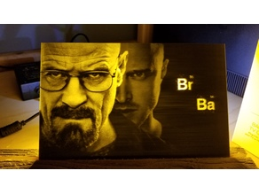 Breaking Bad Lithophane
