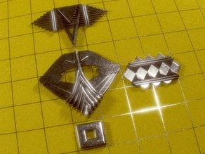 Enterprise Mirror Pins