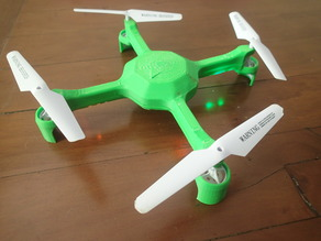 Syma X5C Quadcopter Shell + Wall Mount