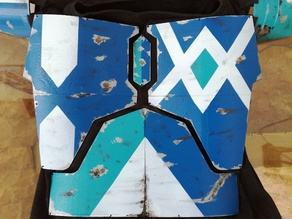 Mandalorian Chest Armor - Custom