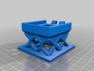 Mini box overhang test