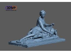 Arethusa Sculpture 3D Scan