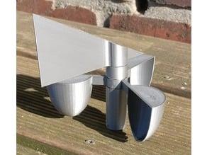 parametric wind direction and speed indicator, anemometer wind vane