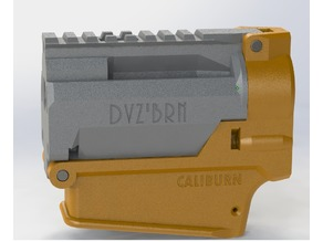 DvZ'BRN Pin Takedown Caliburn Receiver