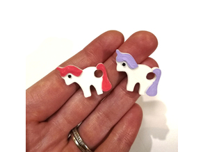 Unicorn Keychain Charm