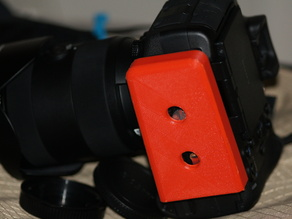 Gitzo Tripod Head QR Cover - On Camera