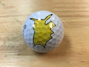 Pokemon Pikachu Golf Ball Marker
