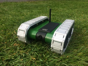 RC FPV tank rover
