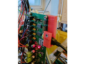 Melzi Board USB Clamp