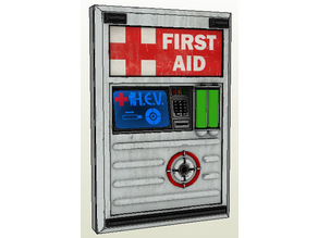 First Aid panel from Half Life