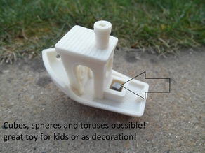 #3D Benchy Payload (customizable)