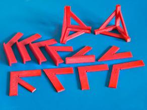 Set of Craft Squares