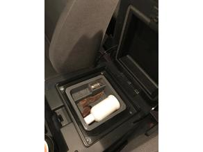 Cooler Box Central Armrest Storage Box Container Tray For Nissan Safari VTC