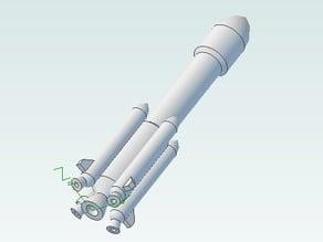 Little Ariane Space Rocket