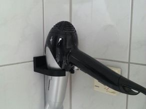 Wallmount for hairdryer