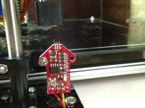 Robo 3D Hall-O magnet holder for Z end stop