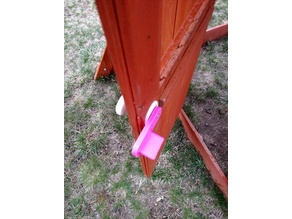 Backyard Discovery Oakmont Swingset Door Latch