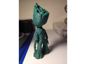 Standing Baby Groot (Reworked to Print w No Raft)