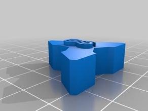 Tetrahedral Racks End Cap