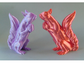 Squizzle! A Supports Free Squirrel Sculpt