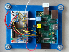 Breadboard Case for Raspberry Pi