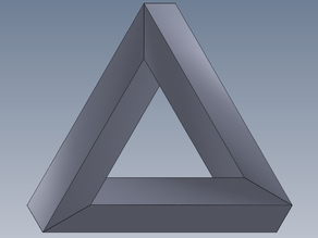 Escher's Penrose Triangle