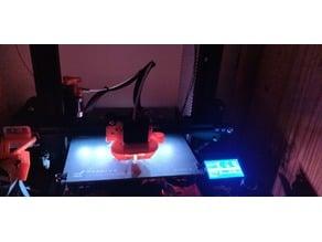 Creality Ender 3 LED strip holder