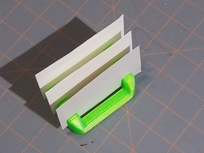 Note and Business Card Holder