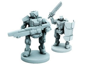 C-Series Cyclops Automated Militia (18mm scale)