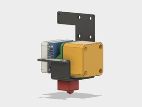 Wanhao i3 Plus extruder block designer's placeholder