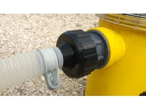 "Intex adaptor hose to std pool Union connector (2.5"")"