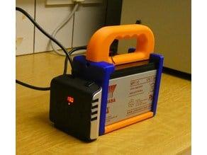 12v Battery holder box 12v 7ah Yuasa sla