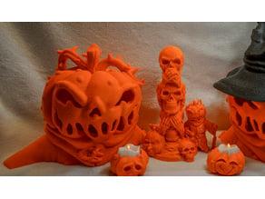 Pumpkin Head by BSGMiniatures - REMIX