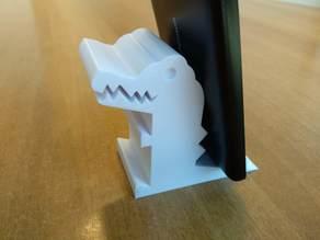 Crocodile phone holder